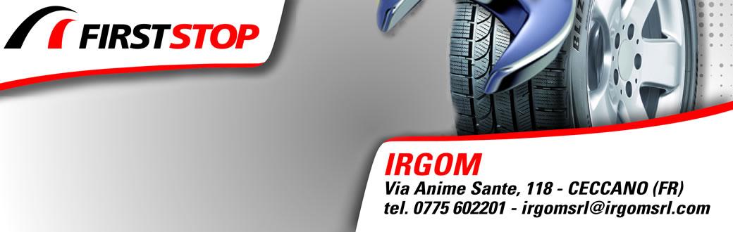 FIRST STOP + IRGOM