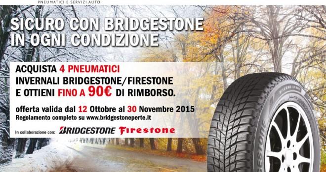 Sicuro con Bridgestone