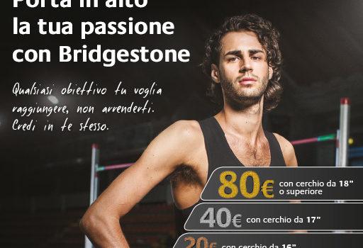 Scopri le nuove promozioni Bridgestone!